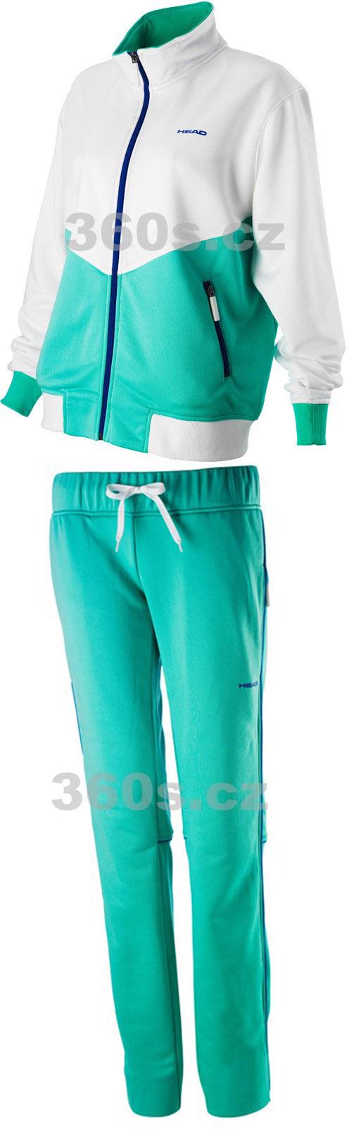 Dámská sportovní bunda HEAD SPECTRUM + kalhoty VECTOR - doprodej S