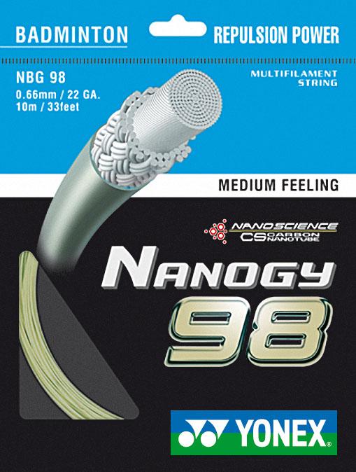 Badmintonový výplet Nanogy 98 - 200 m